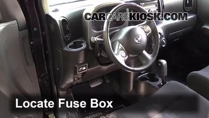 interior fuse box location 2009 2014 nissan cube 2009 nissan cube 2011 nissan cube fuse box diagram at 2011 Nissan Cube Fuse Box Diagram