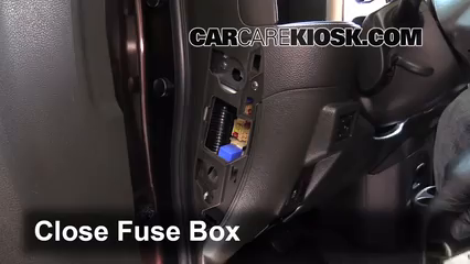 interior fuse box location 2009 2014 nissan cube 2011 nissan cube rh carcarekiosk com 2010 Nissan Rogue Fuse Box Diagram 2010 nissan cube fuse box diagram
