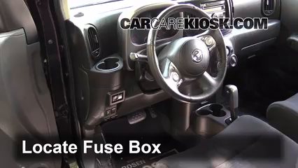 2011 Nissan Cube S 1.8L 4 Cyl. Fuse (Interior) Replace