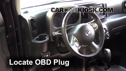 2011 Nissan Cube S 1.8L 4 Cyl. Check Engine Light Diagnose