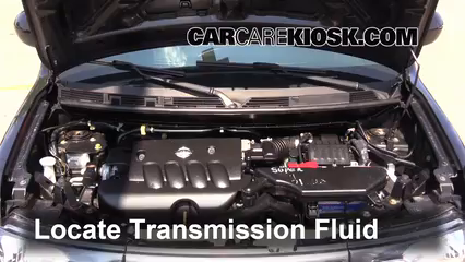 2011 Nissan Cube S 1.8L 4 Cyl. Transmission Fluid Check Fluid Level
