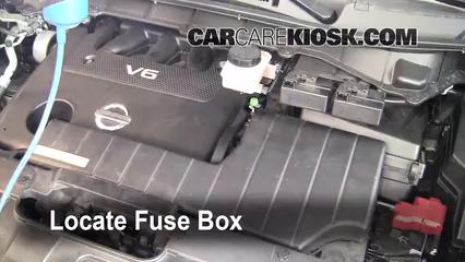 2011 Nissan Quest SL 3.5L V6%2FFuse Engine Part 1 replace a fuse 2011 2016 nissan quest 2011 nissan quest sl 3 5l v6 fuse box location 1999 nissan quest at beritabola.co
