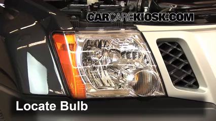 2011 Nissan Xterra S 4.0L V6 Lights Highbeam (replace bulb)