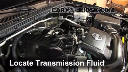 2011 Nissan Xterra S 4.0L V6 Transmission Fluid Add Fluid
