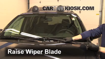 2011 Nissan Xterra S 4.0L V6 Windshield Wiper Blade (Front) Replace Wiper Blades