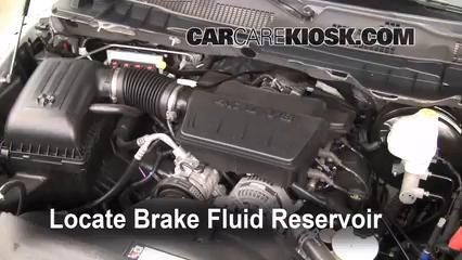 Adding Brake Fluid >> Add Brake Fluid 2011 2018 Ram 1500 2011 Ram 1500 Slt 4 7l