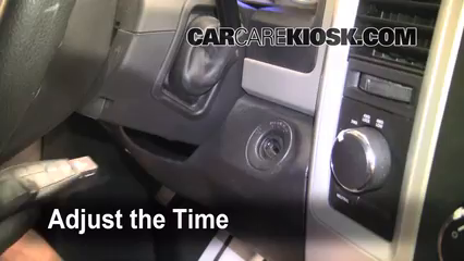 How to Set the Clock on a Ram 1500 (2011-2018) - 2011 Ram
