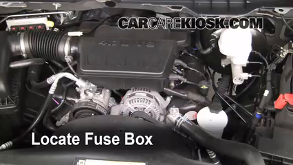interior fuse box location: 2011-2018 ram 1500
