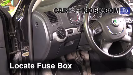 2011 Skoda Octavia TDI CR 2.0L 4 Cyl. Turbo Diesel%2FFuse Interior Part 1 interior fuse box location 2004 2012 skoda octavia 2011 skoda skoda fabia fuse box location at nearapp.co