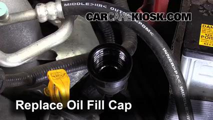 How to Add Oil Subaru Impreza (2008-2014) - 2008 Subaru