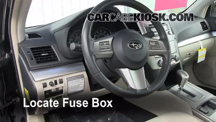 Fuse Interior Part 1 interior fuse box location 2010 2014 subaru legacy 2011 subaru