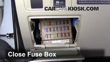 2012 subaru outback fuse diagram