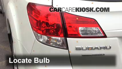 Tail Light Change 2010 2014 Subaru Outback 2011 Subaru