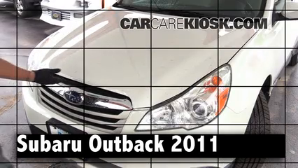 2011 Subaru Outback 3.6R Limited 3.6L 6 Cyl. Review