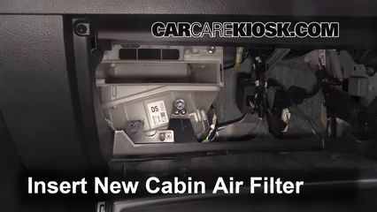 Cabin Filter Replacement: Toyota RAV4 2006-2012 - 2011 ...