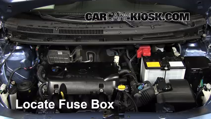 replace a fuse 2007 2011 toyota yaris 2007 toyota yaris s 1 5l 4 cyl 2007 Saab 9-3 Fuse Box Location