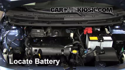 2011 Toyota Yaris 1.5L 4 Cyl. Sedan Battery