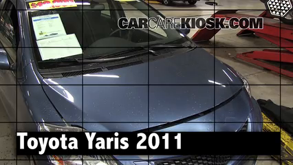 2011 Toyota Yaris 1.5L 4 Cyl. Sedan Review
