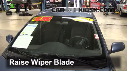 2011 Toyota Yaris 1.5L 4 Cyl. Sedan Windshield Wiper Blade (Front)