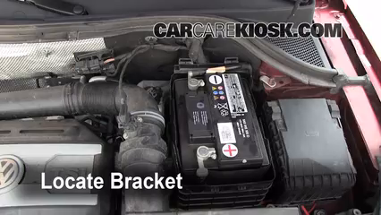 vw key battery replacement type