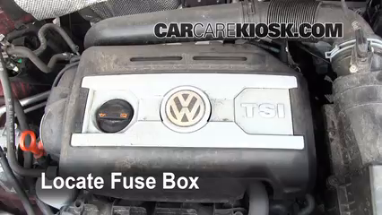 2011 Volkswagen Tiguan SE 2.0L 4 Cyl. Turbo%2FFuse Engine Part 1 replace a fuse 2009 2016 volkswagen tiguan 2011 volkswagen 2012 vw touareg fuse box diagram at alyssarenee.co