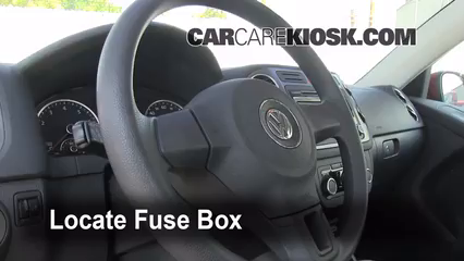 2011 Volkswagen Tiguan SE 2.0L 4 Cyl. Turbo%2FFuse Interior Part 1 interior fuse box location 2009 2016 volkswagen tiguan 2011 2012 vw touareg fuse box diagram at alyssarenee.co
