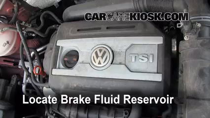 2011 Volkswagen Tiguan SE 2.0L 4 Cyl. Turbo Brake Fluid