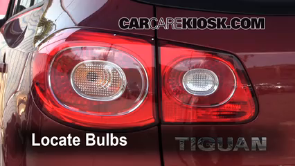 2011 Volkswagen Tiguan SE 2.0L 4 Cyl. Turbo Lights Tail Light (replace bulb)