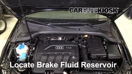 2011 Audi A3 TDI 2.0L 4 Cyl. Turbo Diesel Líquido de frenos