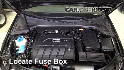 2011 Audi A3 TDI 2.0L 4 Cyl. Turbo Diesel Fusible (motor)