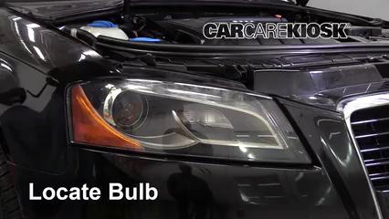 2011 Audi A3 TDI 2.0L 4 Cyl. Turbo Diesel Luces Luz de estacionamiento (reemplazar foco)