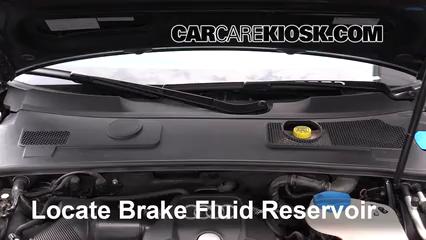 2011 Audi A6 Quattro 3.0L V6 Supercharged Brake Fluid