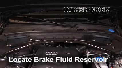 2011 Audi Q5 Premium Plus 2.0L 4 Cyl. Turbo Liquide de frein