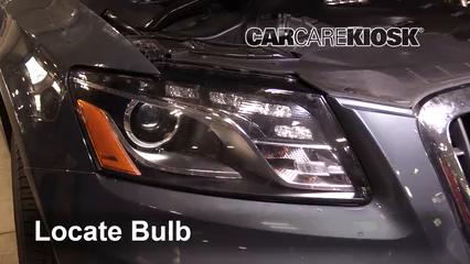 2011 Audi Q5 Premium Plus 2.0L 4 Cyl. Turbo Luces Luz de marcha diurna (reemplazar foco)