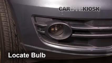 2011 Audi Q5 Premium Plus 2.0L 4 Cyl. Turbo Luces Luz de niebla (reemplazar foco)