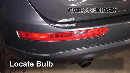 2011 Audi Q5 Premium Plus 2.0L 4 Cyl. Turbo Luces Luz de reversa (reemplazar foco)
