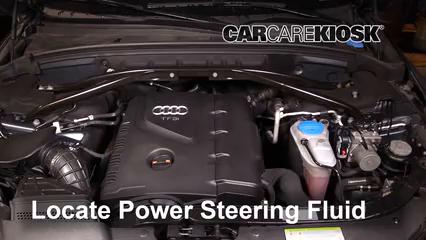2011 Audi Q5 Premium Plus 2.0L 4 Cyl. Turbo Líquido de dirección asistida Sellar pérdidas