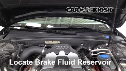 2011 Audi S4 3.0L V6 Supercharged Liquide de frein
