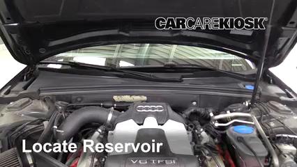 2011 Audi S4 3.0L V6 Supercharged Liquide essuie-glace