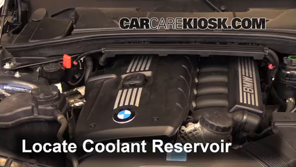 2011 BMW 128i 3.0L 6 Cyl. Coupe Pérdidas de líquido Refrigerante (anticongelante) (arreglar pérdidas)