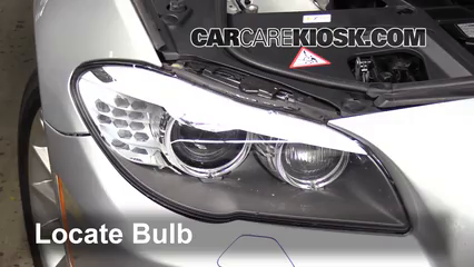 2011 BMW 535i 3.0L 6 Cyl. Turbo Lights Turn Signal - Front (replace bulb)