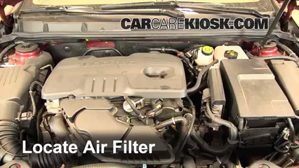 2011 Buick LaCrosse CX 2.4L 4 Cyl. Air Filter (Engine)