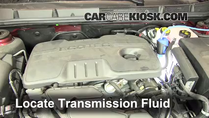 2011 Buick LaCrosse CX 2.4L 4 Cyl. Transmission Fluid Add Fluid