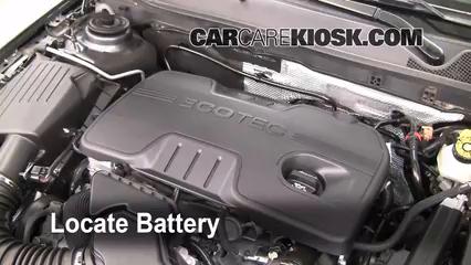 2011 Buick Regal CXL 2.4L 4 Cyl. Battery
