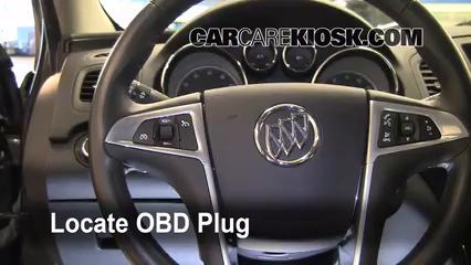 2011 Buick Regal CXL 2.4L 4 Cyl. Lumière « Check engine » du moteur