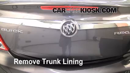 2011 Buick Regal CXL 2.4L 4 Cyl. Monter sur cric
