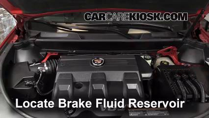2011 Cadillac SRX 3.0L V6 Brake Fluid