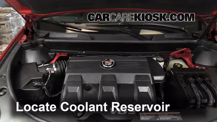 2011 Cadillac SRX 3.0L V6 Coolant (Antifreeze)
