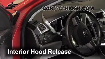 2011 Cadillac SRX 3.0L V6 Belts