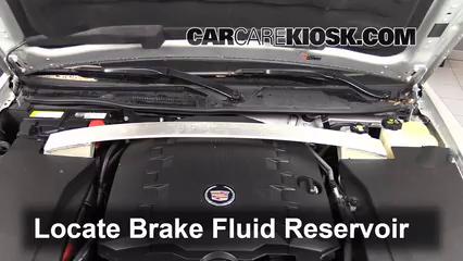 2011 Cadillac STS 3.6L V6 Liquide de frein